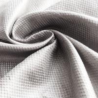 ajiacn防电磁辐射100%方格银纤维面料